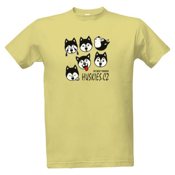 Tričko s potiskem Pánské Friends  4369c55851
